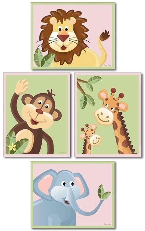 jungle nursery wall decor jungle animals nursery wall baby nursery decor prints