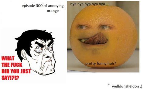 Orange Memes - stupid orange the annoying orange know your meme