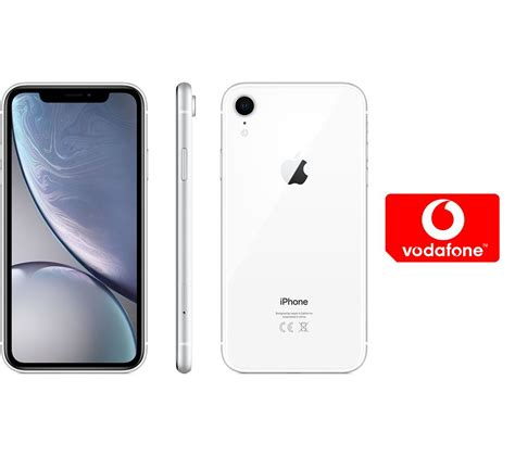 buy apple iphone xr pay as you go micro sim card bundle 64 gb white free delivery currys