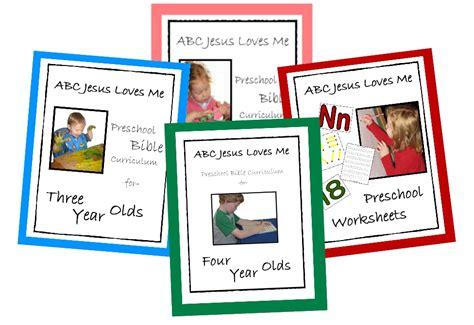 Abcjesuslovesme Worksheets by Abc Jesus Me Preschool Curriculum Faithful Provisions
