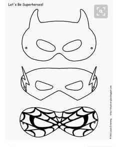 villain mask template printable coloring masks mask