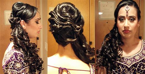 Wedding Hairstyles Vancouver by Indian Bridal Hairstyles Wedding Hair Services Vancouver