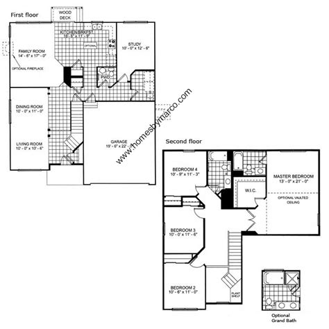 augusta floor plan ryland homes augusta floor plan home plan