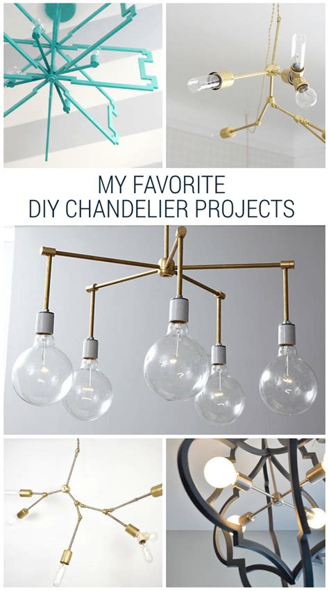 diy chandelier projects six amazing diy chandelier projects