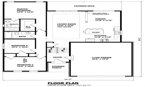 bungalow floor plans canada raised house plans old bungalow style raised bungalow