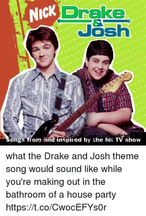 theme song would you like to swing on a star drake nick josh ongs from and inspired by the hit tv show