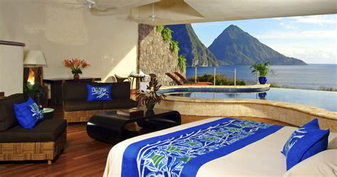 hotel review jade mountain st lucia the luxury travel