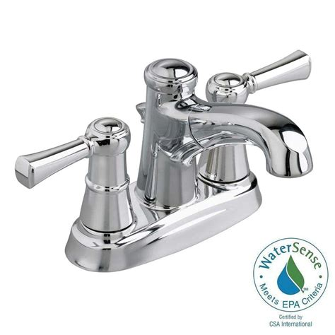 bathtub faucet with shower connection american standard outreach 4 in centerset 2 handle low