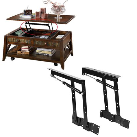 Lift Top Coffee Table Mechanism 2x Lift Up Coffee Table Mechanism Hardware Top Lift Frame Furniture Hinge