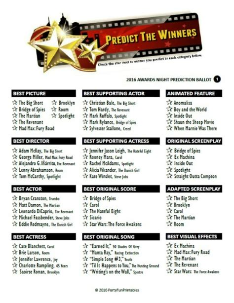 Oscar Film Quiz Questions | oscar trivia a movie quiz on the best of the best