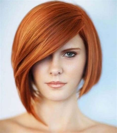 bob hairstyles for a small face graduated bob haircut with long bangs for round face