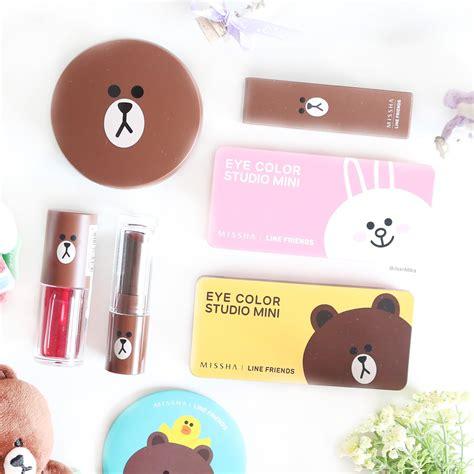 Brown Missha Eyecolor Studio Mini Line Friends Eyeshadow missha x line friends eye color studio mini review