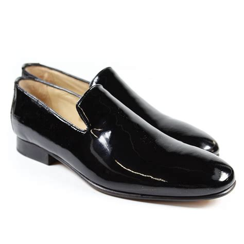black loafers loafers stella 1 patent black melvin hamilton