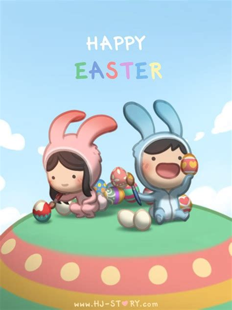 happy easter hj story