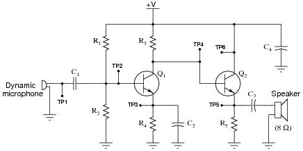 transistor lifier faults study this audio lifier circuit closely