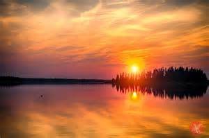 Landscape Pictures Of Sunset Elk Island Sunset Landscape Photography Miksmedia