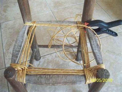 Comment Rempailler Une Chaise by Rempaillages Atelier D Isa