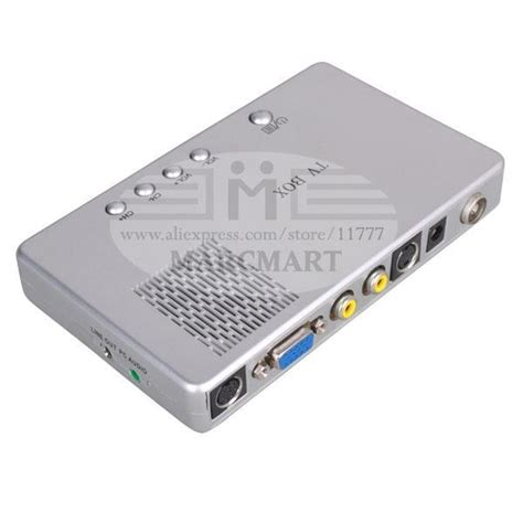 Tv Tuner Lcd External box tuner converter box external digital vga tv receiver lcd tv tuner monitor for crt lcd tv