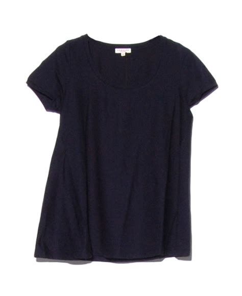 swing tee shirts demylee navy moss swing t shirt in blue lyst