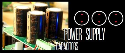 power supply capacitor voltage rating power supply capacitors
