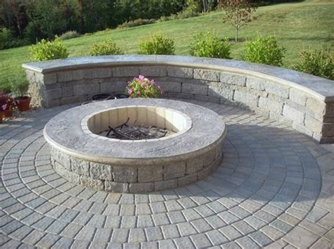 Fire Pit On Concrete Slab Concrete Fire Pit And The Concrete Pit