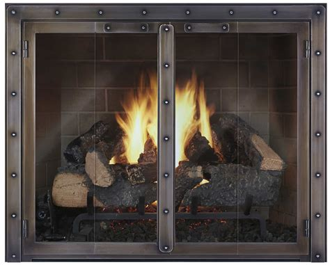 Glass Doors For Fireplaces by Fireplace Doors Fireplace Door Custom Fireplace Doors