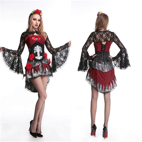 Dress Of The Day Thisbe Dress sugar skull mexican costume day of the
