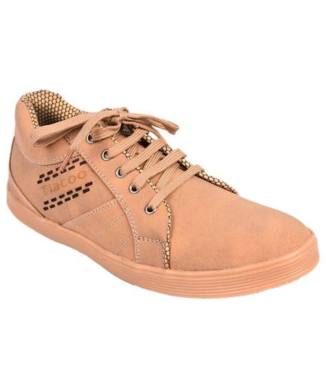 tiacoo beige canvas shoes snapdeal price casual shoes