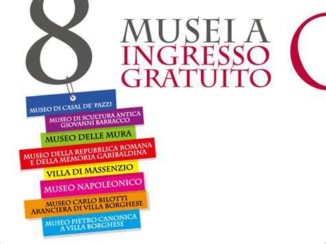 ingresso gratuito musei roma 8 piccoli musei di roma ad ingresso gratuito turismo roma