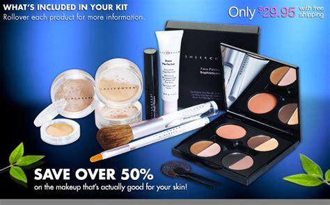 Harga Pac Professional Make Up Kit New Edition sheer cover mineral makeup kit makeup vidalondon