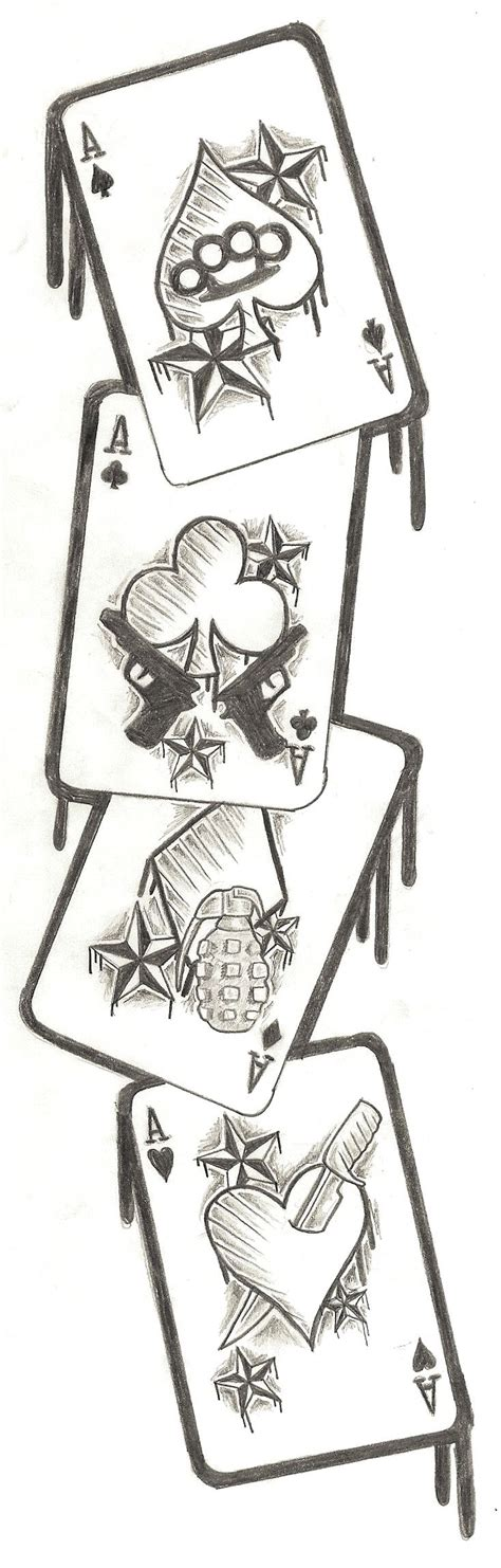 deck of cards tattoo best 25 card ideas on tarot card