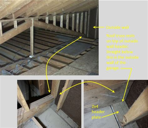 Garage Storage Roof Is My Attic Floor My Garage Strong Enough To Use It