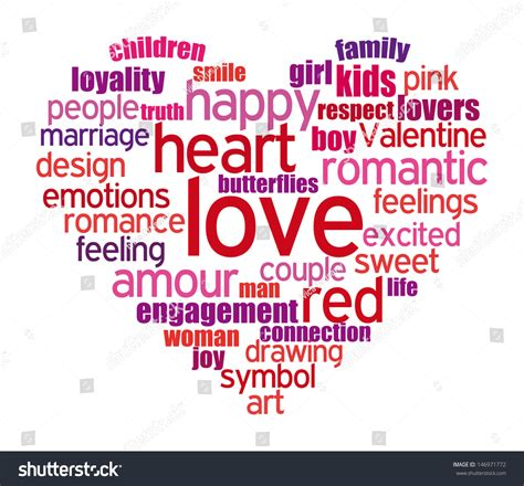 related words tag cloud shaped composed words stock illustration 146971772