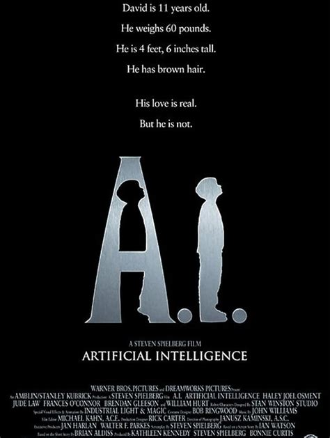artificial intelligence movie segments for warm ups and follow ups a i