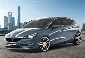Opel Astra Colors So Are The Sports Accessories From Irmscher For The New