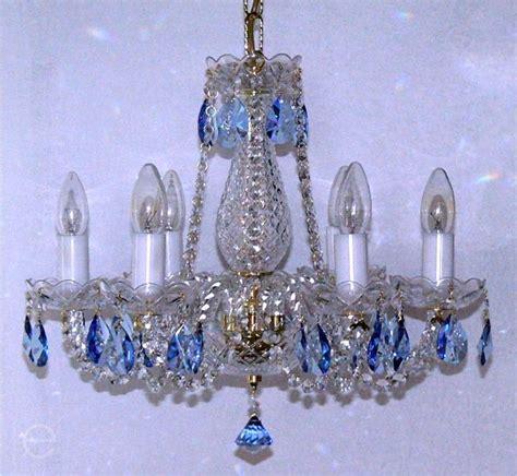 Blue Chandelier Crystals Light Blue Chandelier Crystals Best Home Design 2018