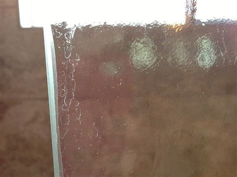 Water Stains Glass Shower Door by Glass Shower Door Stains Cleaning Tips