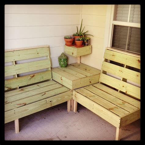 diy backyard furniture diy patio furniture i think this may be the perfect size