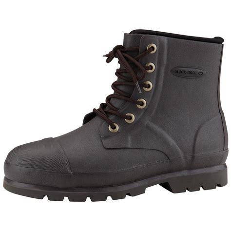 muck work boots s muck boots foundation waterproof steel toe work
