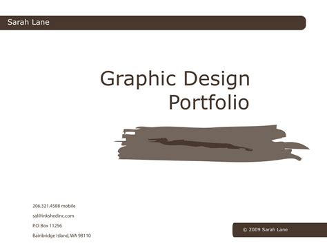 portfolio of graphic design in pdf graphic design portfolio all done