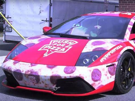 Lamborghini Pizza Delivery Lamborghini Lp640 Murcielago Turned Into A Pizza