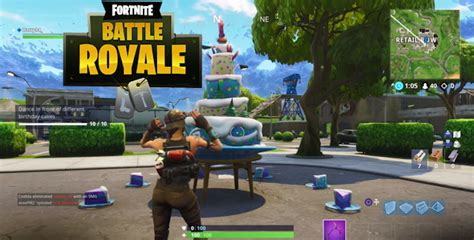 fortnite birthday cakes locations guide