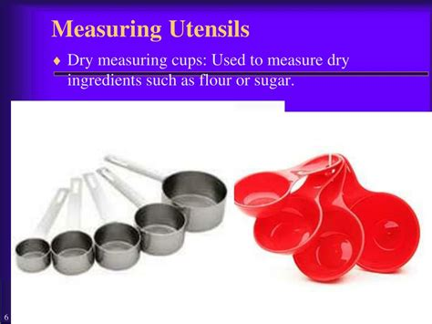 Kitchen Measuring Ppt Ppt Chapter 23 Kitchen Utensils And Appliances