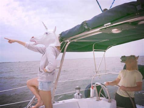 boat driving mask pin funny unicorn horse mask halloweenjpg on pinterest