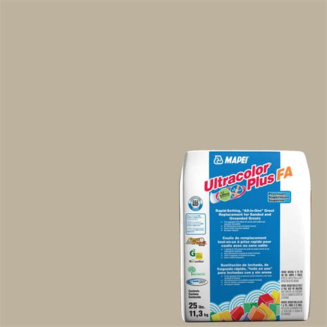 shop mapei ultracolor plus fa 25 lb ivory sanded unsanded