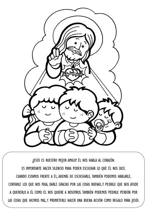imagenes sagrado corazon de jesus para colorear la catequesis el blog de sandra explicaci 243 n con