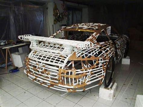 homemade europe diy design genius diy genius creates peddle powered porsche roadster