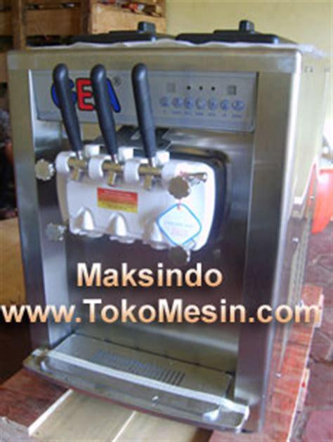 Jual Freezer Mini Untuk Es Krim jual mesin es krim soft lengkap di surabaya