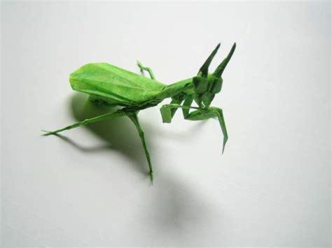 Origami Mantis - praying mantis