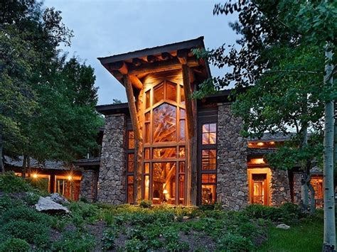 most lit up houses in colorado a stunning aspen estate castle creek valley ranch